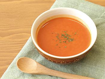 野菜ジュースで簡単はちみつスープ