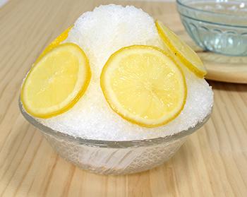 氷はちみつレモン