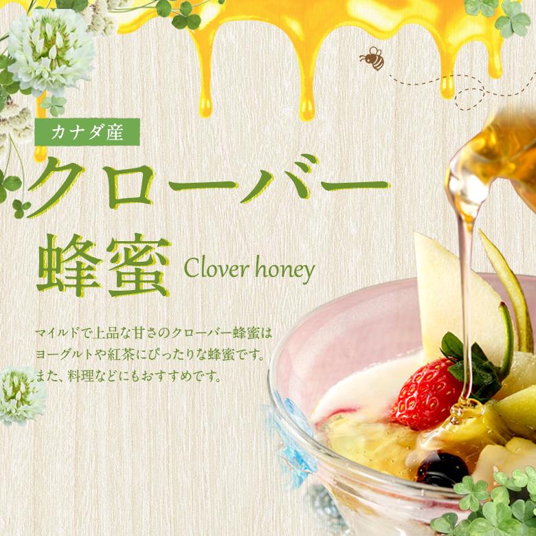 カナダ産クローバー蜂蜜