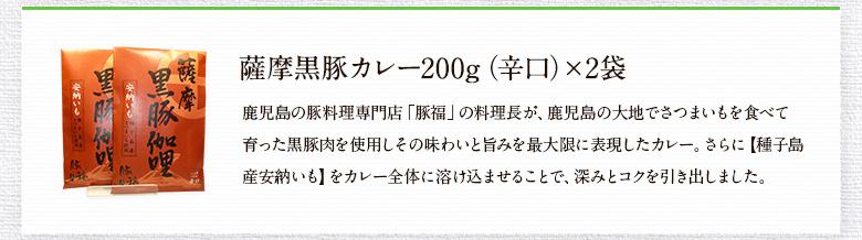 薩摩黒豚カレー(辛口)