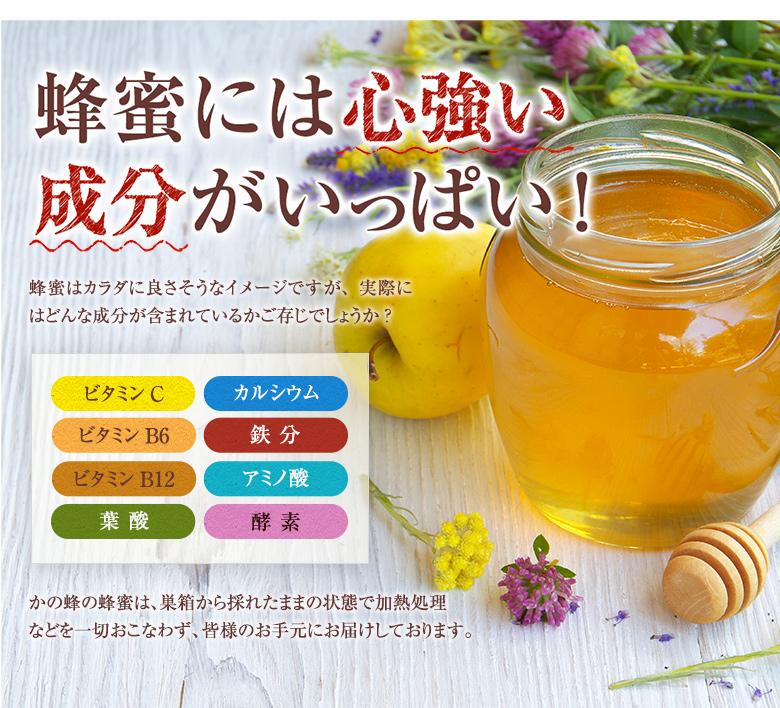 蜂蜜には心強い成分がいっぱい!